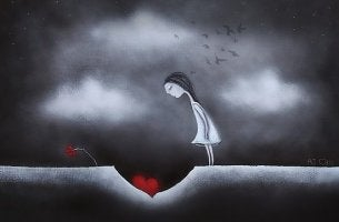 Hjärta i grop