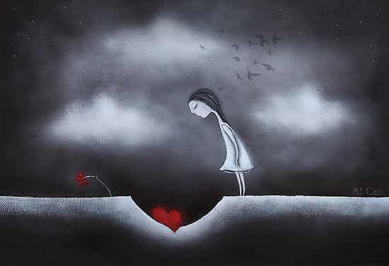 Låt inte dina sår göra dig till någon du inte är