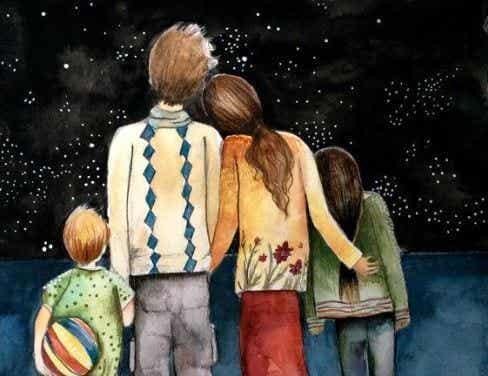 Familjen är vår största skatt