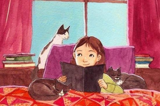 Barn som läser