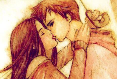 Vänta inte tills imorgon med de kyssar du kan ge idag