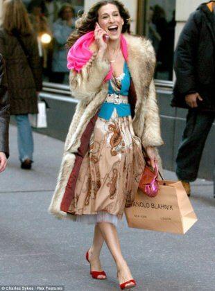 Carrie på stan