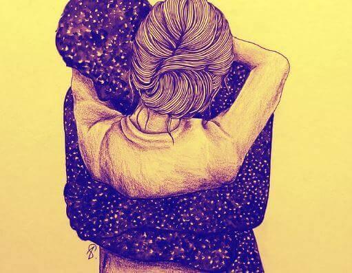Det finns kramar som ger dig gåshud och återupplivar hjärtat