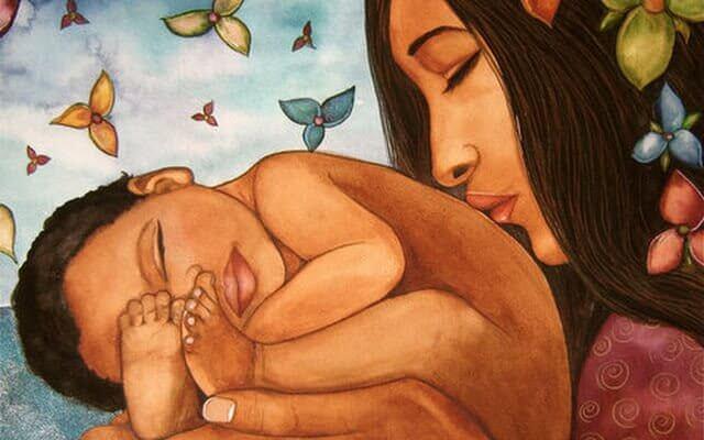 Att vara mamma är att ha hjärtat utanför kroppen