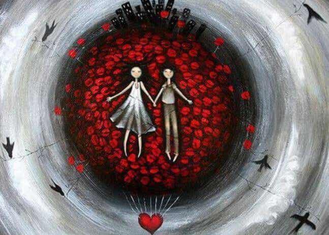 Att älska är inte att äga en annan person