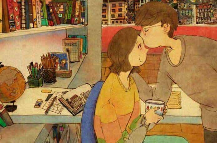 Kärleken ligger i de små detaljerna