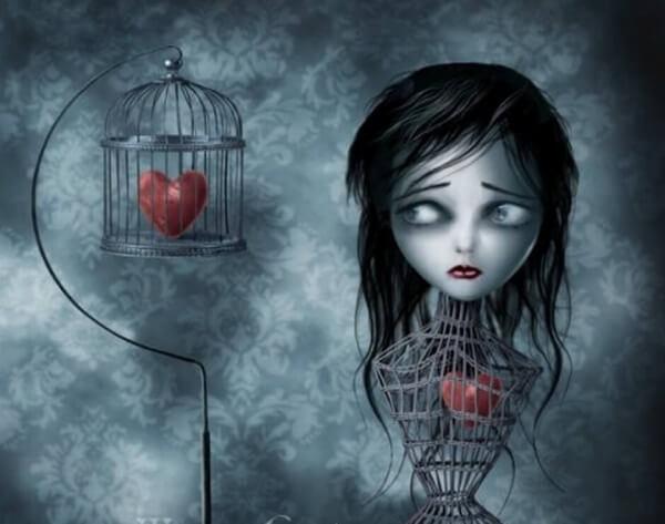 Hjärta i bur