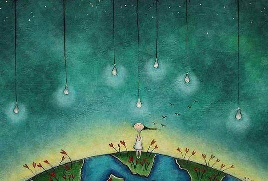 Stjärnor på vår känslomässiga resa