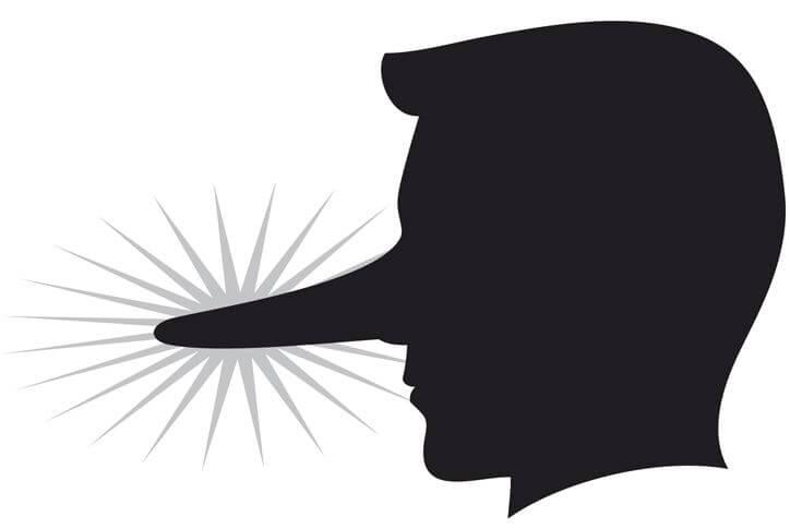 De 8 vanligaste lögnerna män drar