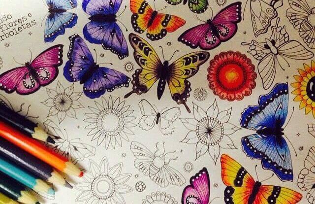 Att färglägga, ett terapeutiskt nöje