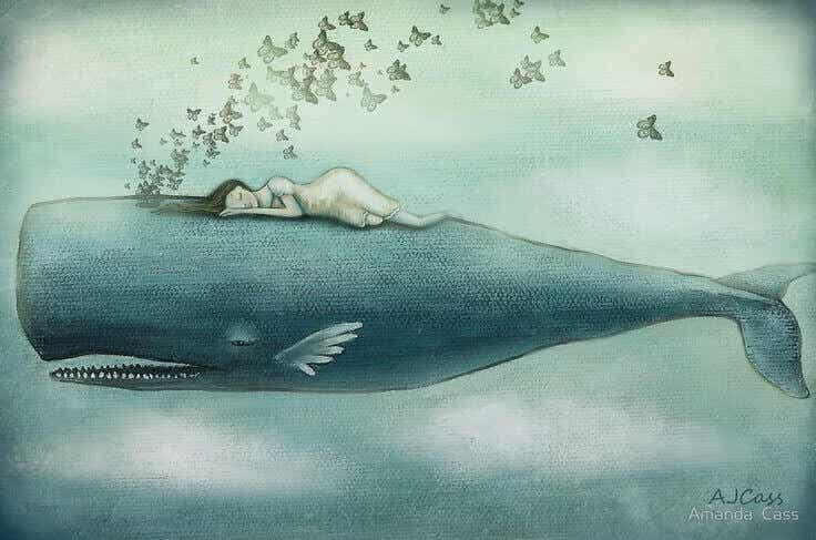 Ibland fäller vi så många tårar att valar kunde simma i dem