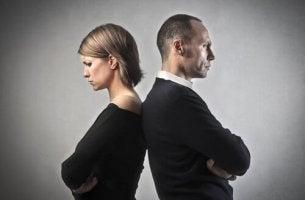 Olyckligt par