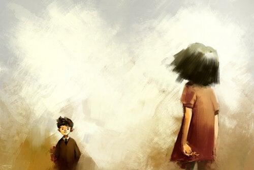 Flicka och pojke