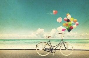 Cykel på stranden