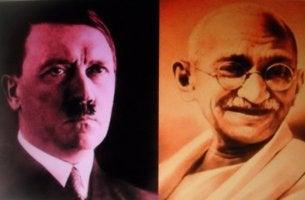 Gandhi och Hitler