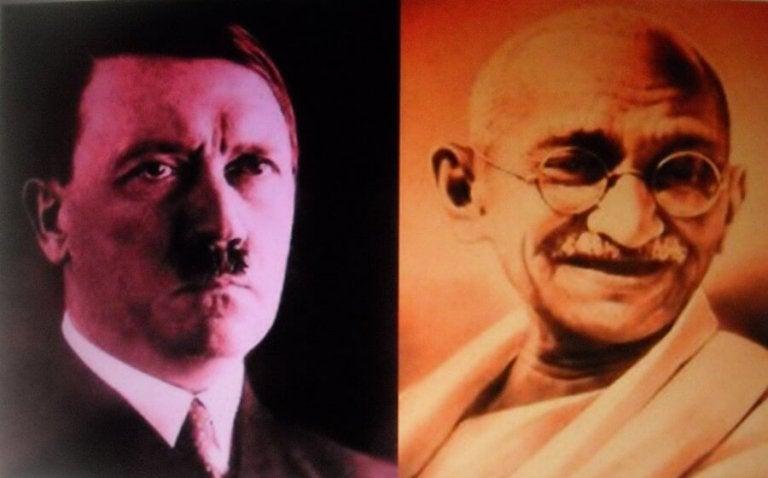 Brevet från Gandhi till Hitler