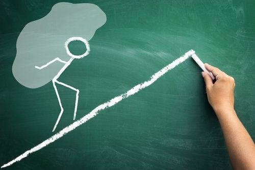 Att lära ut värdet av hårt arbete