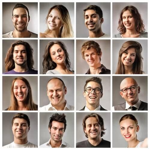 Vilka ansikten inger mest förtroende?