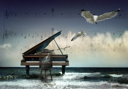 Piano i havet