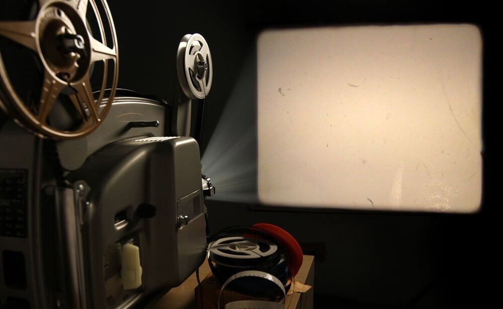 Projektor på biografen