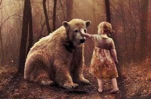 Barn och björn