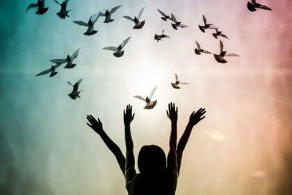 Armar och fåglar