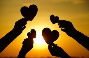 Hjärtan mot solen