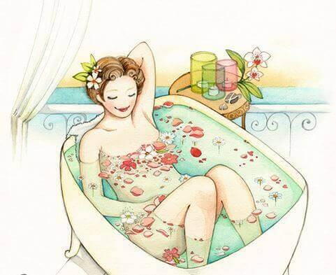 Skönhet i badet