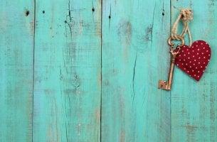 Nyckel med hjärta
