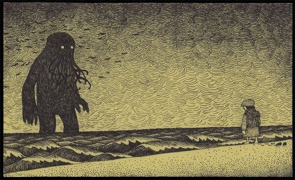 Cthulhu i havet