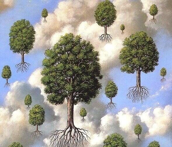 Flygande träd