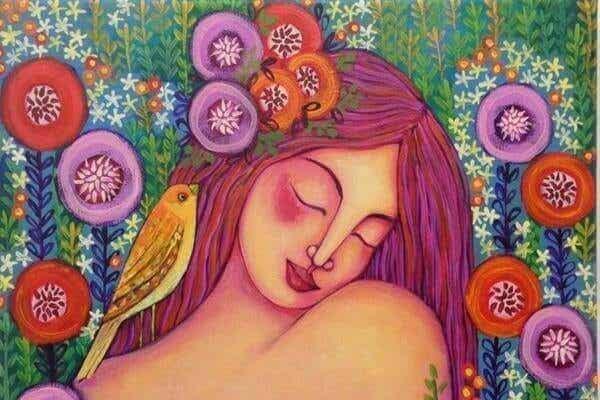 Älska dig själv och låt dig själv bli älskad