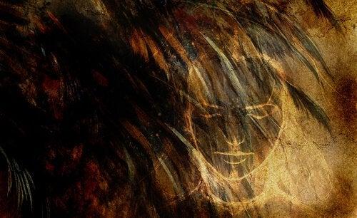 Målat ansikte