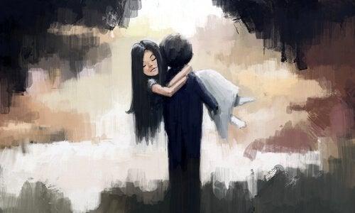 Man bär kvinna