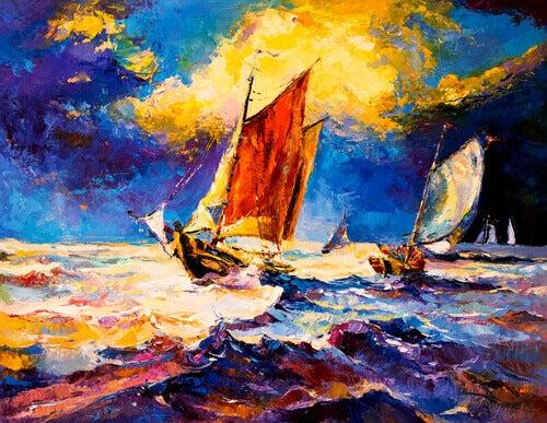 Navigerande skepp