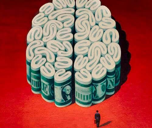 Pengar i hjärnform