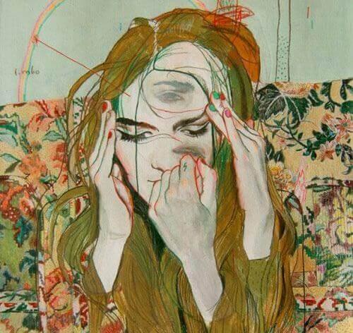 Surrealistisk kvinna