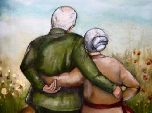 Far- och morföräldrar som tar hand om sina barnbarn lämnar spår i själen