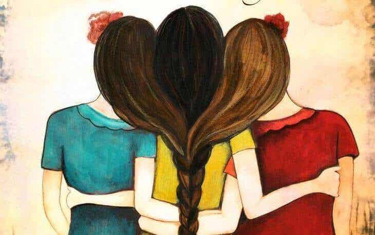 En kram är den bästa medicinen för många smärtor