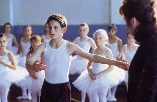 Billy Elliot dansar
