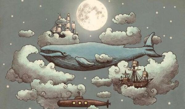 Flygande val