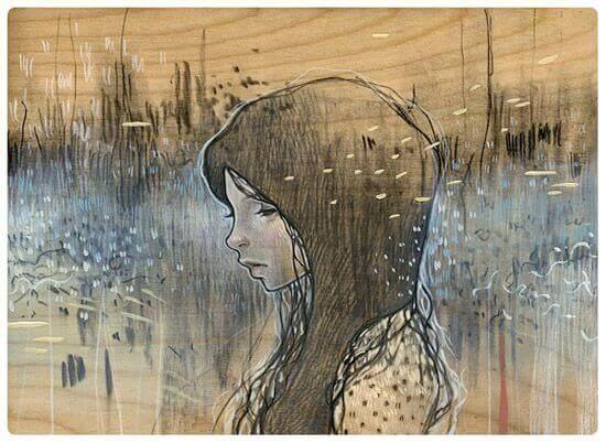 Kvinna i tystnad