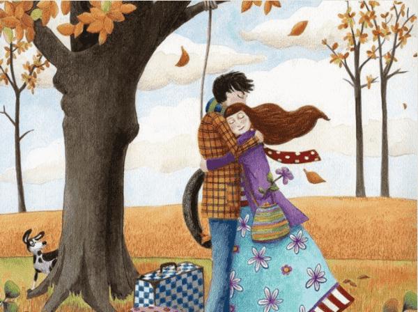 Ge mig en kram som varken rädsla eller vintern rår på