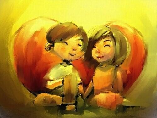 Om du älskar någon vill du se denne lycklig