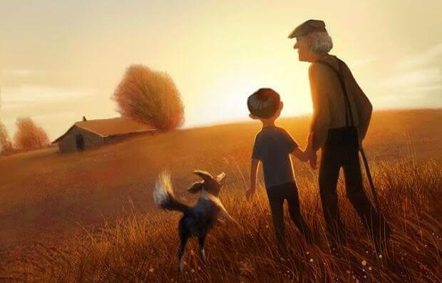 Barnbarnen: ett arv av kärlek mellan barn och föräldrar
