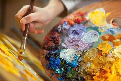 Måleri: En kreativ terapi