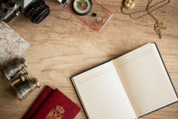 Skriv resedagbok