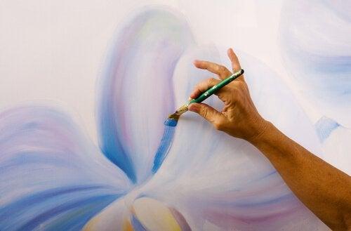 Terapeutiskt måleri
