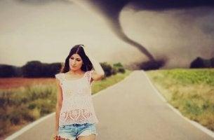 Att undvika en tornado