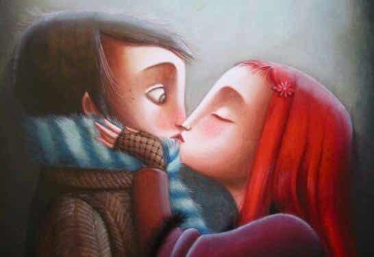 En kärlek som man måste be om är inte kärlek
